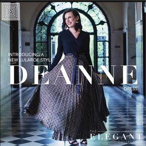 LuLaRoe Deanne Dress Size Large